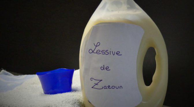 Lessive au savon de Marseille Thermomix ou autre mixeur ou sans robot