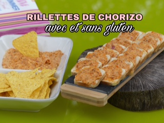 Rilletes de chorizo, tuto au thermomix ou companion, i cook in ou blender, mini robot