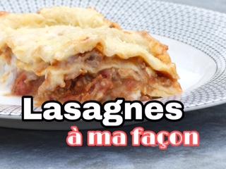Lasagnes au thermomix et cookeo