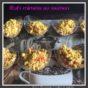 Verrines d'œufs mimosa au saumon fumé au Thermomix ou autre robot