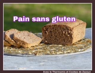 Mix pain et Pain sans gluten moelleux au Thermomix ou autre robot