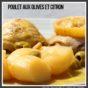 Poulet aux olives et citron au cookeo ou cocotte minute