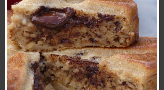 Gâteau Invisible aux pommes et chocolat en vidéo au Thermomix