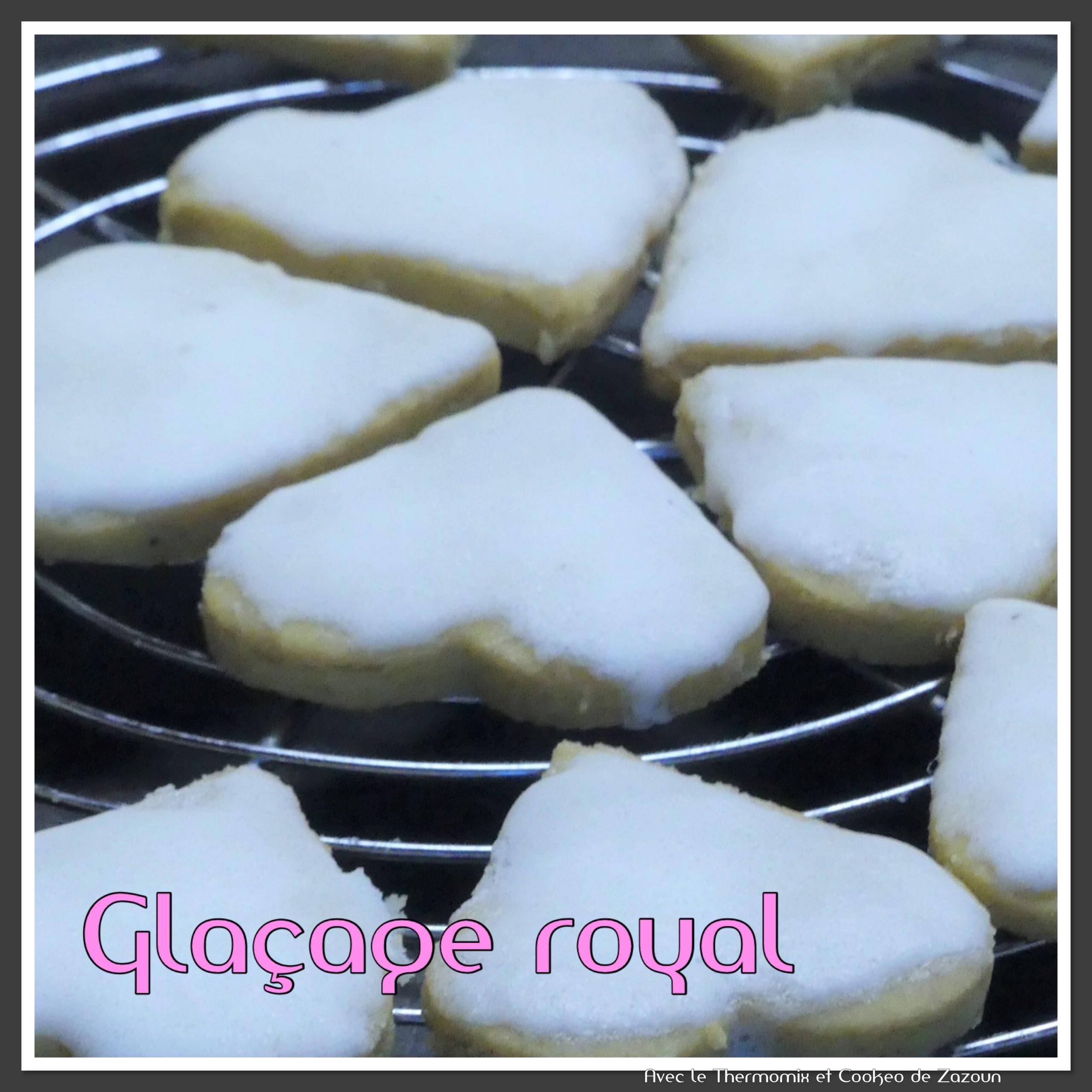 Glaçage Royal pour cake ou biscuits sablés … sans robot
