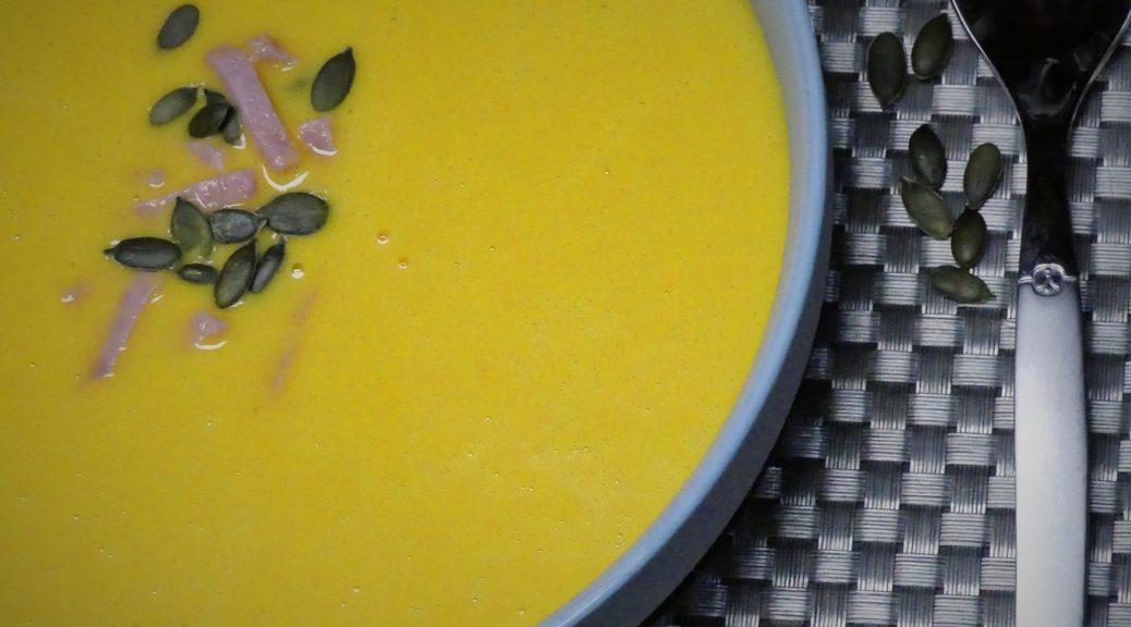 soupe de patate douce et carotte