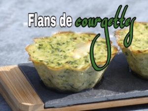 flan de courgettes thermomix