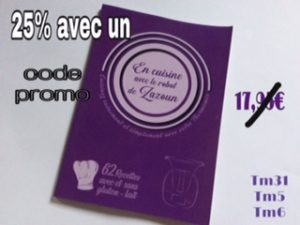code promo livre thermomix
