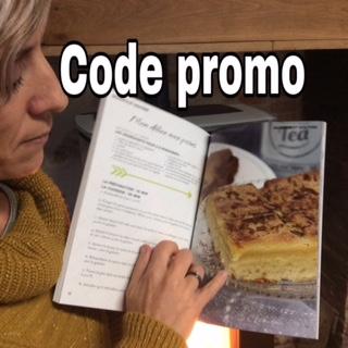 code promo livre de recettes au Thermomix