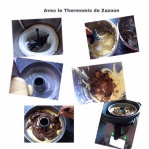 marbré au varoma Thermomix