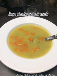 Soupe danoise aux pois cassés au Thermomix (naturellement sans gluten ni produits laitiers)