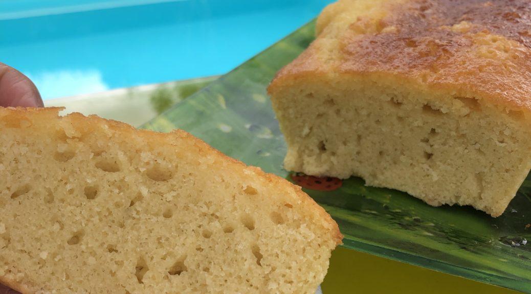 Cake au citron sans gluten ni lait